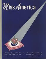 Official Yearbook of the Miss America Pageant, 1948