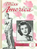 Official Yearkbook of the Miss America Pageant, 1945