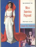 Official Yearbook of the Miss America Pageant, 1961