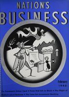 Nation's Business [February 1940]