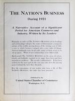 Nation's Business [Index for 1921]