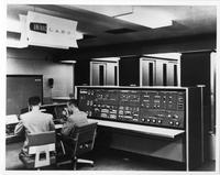 UNIVAC II system, airbrushed