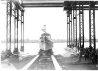 Launching of the tugboat Jane, #440
