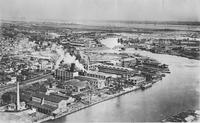 Aerial view of Pusey and Jones Company Plant
