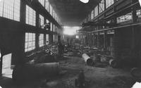 Pusey and Jones Company's new foundry, interior