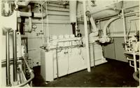 Engine room interior of Nantucket Shoals, Hull #431, Contract 1084