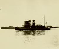 Delivery of the tugboat Cleveland, hull #411