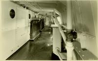 Interior of passageway on Nantucket Shoals, Hull #431, Contract 1081