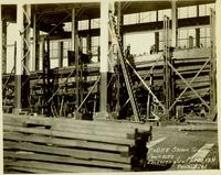 Building of the tugboat Richmond hull #419