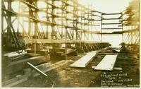 Laying keel of Nantucket Shoals, Hull #431, Contract 1063
