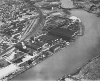 Aerial View of Pusey and Jones Corporation's Wilmington facilities