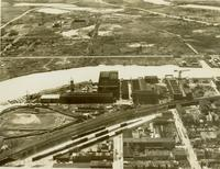 Pusey and Jones shipyard aerial view