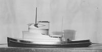 Model of the tugboats, H. S. Falk and J. P. Pulliam