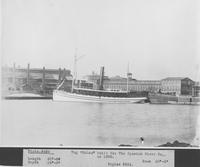 The tugboat, Colon, built for The Spanish River Co.