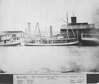 The tugboat, General Padilla, Hull 140, built for T. Amsink & Co.