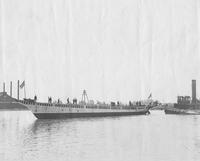 The yacht, Lydonia, built for William A. Lydon