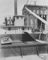 U.S. Ash, Coal and Water Barge #14 built for U.S. Navy