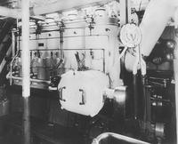 Engine for Overfalls, Light Vessel #101, built for U.S. Coast Guard