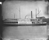 Side wheel steamer, Tocantins, Hull 135, built for J. Travassos de Rosa of Brazil