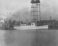 The steamer, Henry Wilson, built for U.S.Q.M [United States Quarter Master's] Department