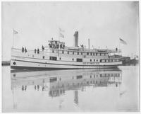 Steamer, Cristobal Colon, built for Isle of Pines Steamboat Company