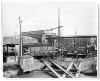 P.R.R. Barge, hull #356 during building