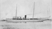 The yacht, Celt, built for J. R. Maxwell