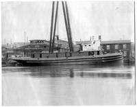 Building of the tugboat Miraflores, hull #341
