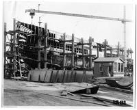 Light Vessel 101, hull #354 under construction