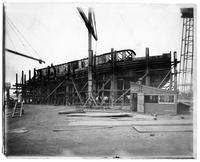 Building of the tugboat P.R.R. No. 35, hull #344