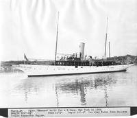 Yacht, Emrose, built for A.W. Rose of New York