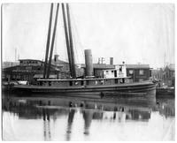 Outfitting of the tugboat Miraflores, hull #341