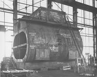 Condenser shell built for Westinghouse Electric Corporation.