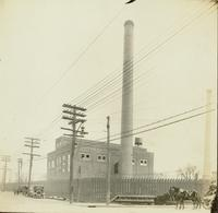 Construction of power plant at Gloucester, N.J. shipyard