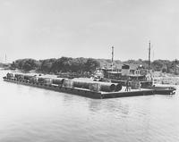 Dock Barge No. 2, leaving Pusey and Jones for New York