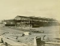 Construction of buildings at Gloucester, N.J. shipyard