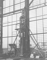 450 Ton Hydraulic Jack, built for the DeLong Corporation, New York, N.Y.