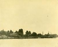 Gloucester, N.J. shipyard site prior to construction