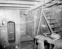 Interior view during building of the tugboat Justine, #1099