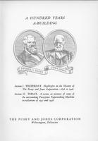 A Hundred Years A-Building: Highlights of the History of The Pusey and Jones Corporation, 1848-1948