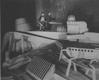New York World's Fair - Raymond Loewy and Worker in Chrysler Exhibit