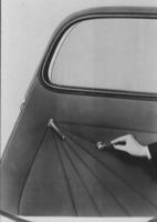 Hupmobile door and roll-down window