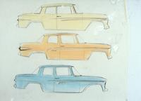 Studebaker development - drawings