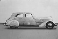 Automobile model - Hupmobile Clay Mock-Up du Pont )