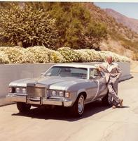 Raymond Loewy with Mercury Cougar