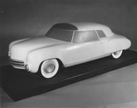 Studebaker development - quarter-size clay model