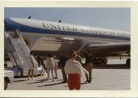 Air Force One - Palm Springs - March '64