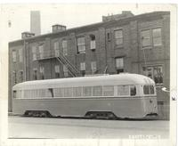 Brill Manufacturing Co. street car
