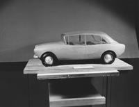 Model automobile - clay