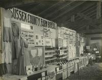 Sussex County Farm Bureau display at the Delaware State Fair